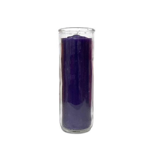 Purple Pullout Candle