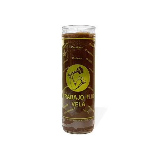 Steady Work Candle - Brown