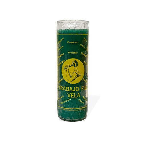 Steady Work Candle - Green