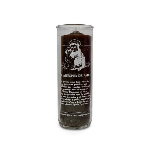 Saint Anthony Pullout Candle