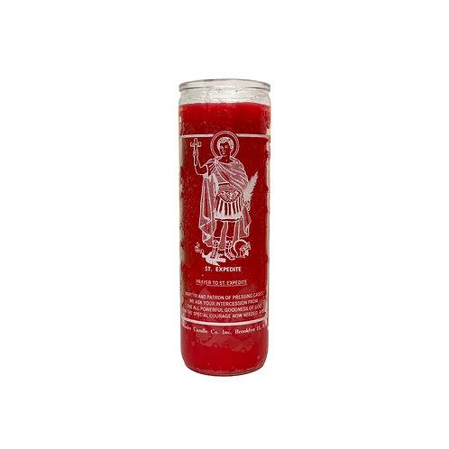 Saint Expedite Candle