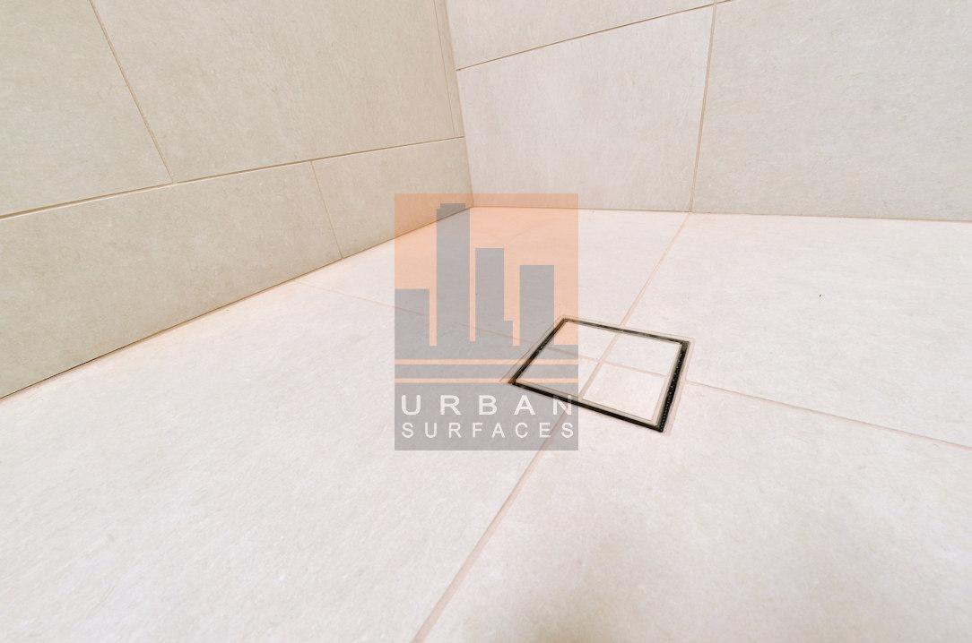 Shower base only 4 tiles