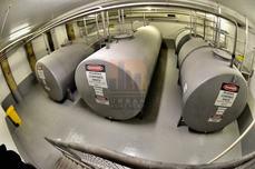 Diesel tank room waterproofing
