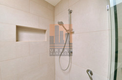 Shower niche made to fit