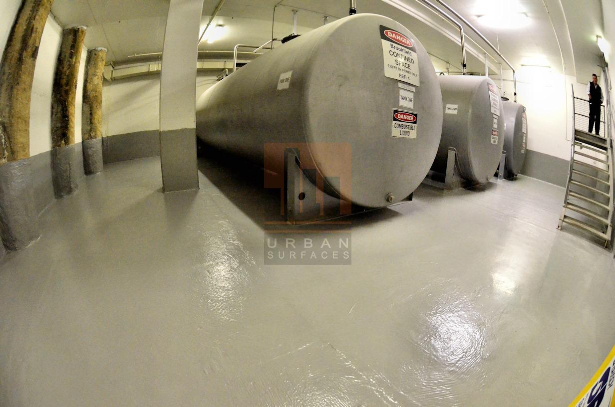 Brookfield Diesel Tank Room