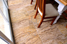 Travertine Pavers inside and out