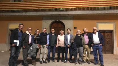 Amb els partits polítics que van donar suport a l'activitat cinegètica
