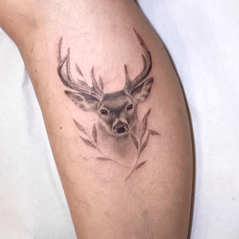 Tattoo_ciervo