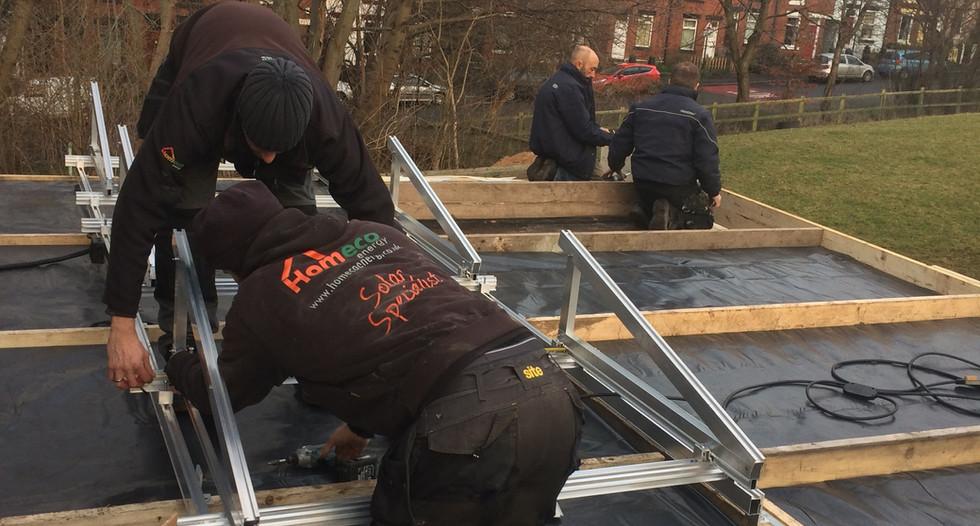 Fixing the Solar Panels
