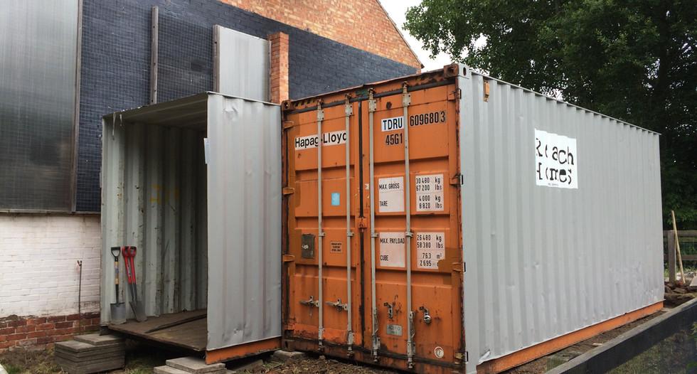 Container Split in Half