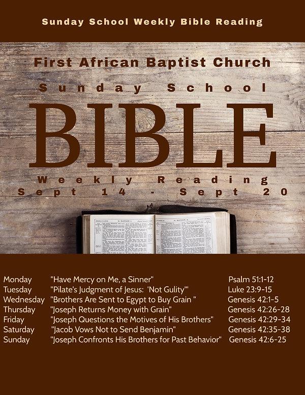 Copy of Copy of Bible Study Church flyer