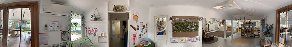 Panorama of the kindy, inside 1