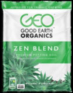Zen Blend organic potting soil bag