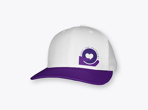 Hope For Recovery Snapback Hat