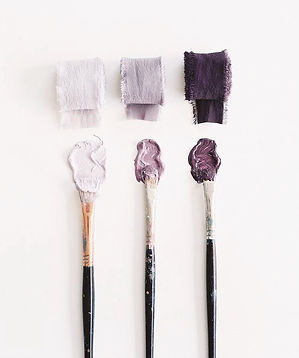 Pastel colours on photo