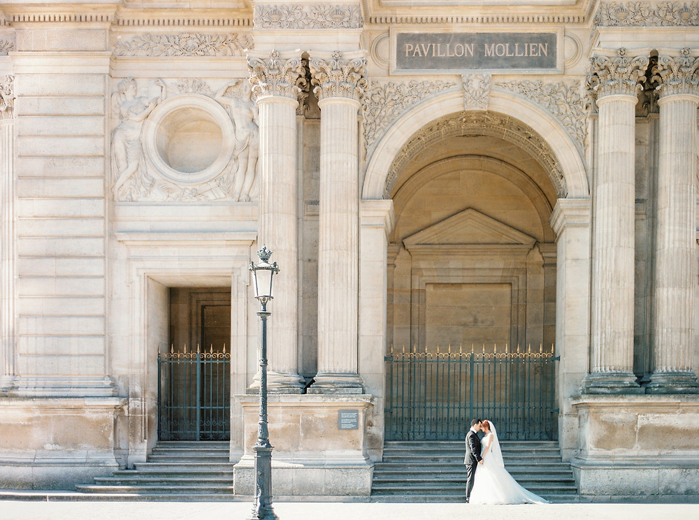 Paris honeymoon photography
