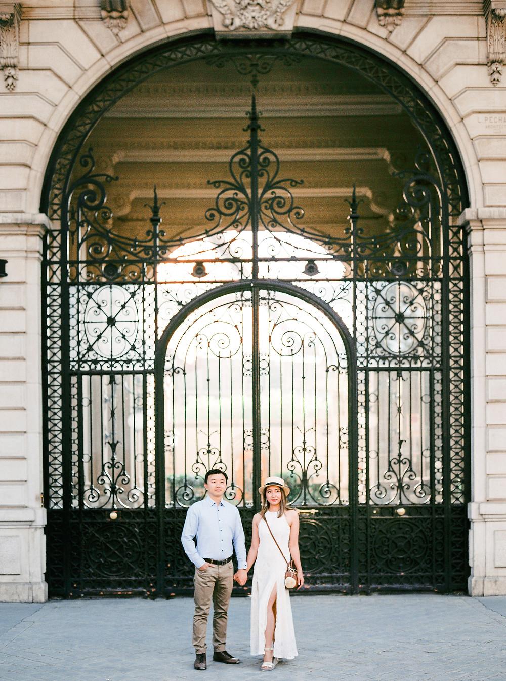 Paris love story photoshoot