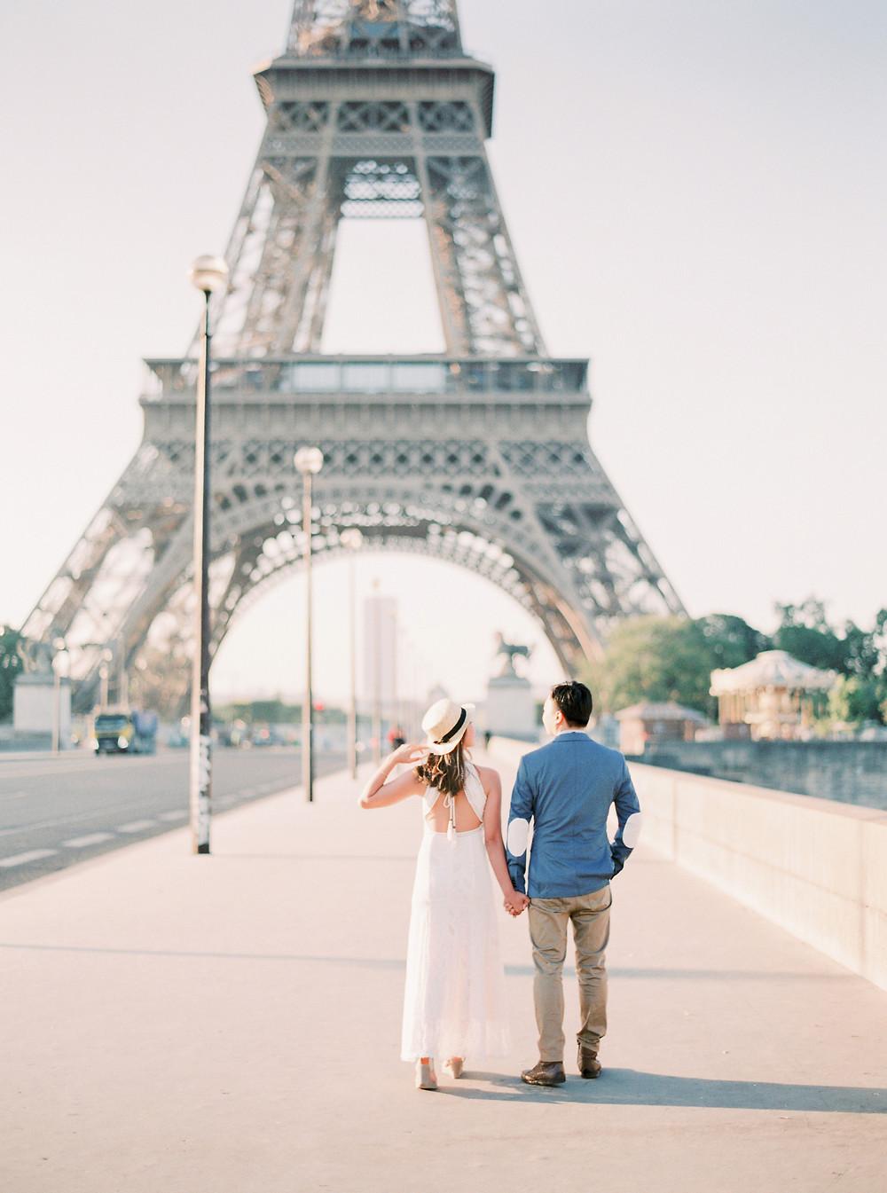 Elopement photoshoot in Paris