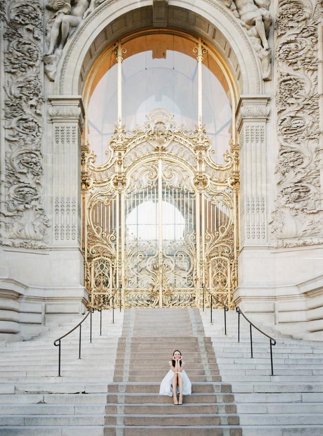 Romantic Paris photoshoot