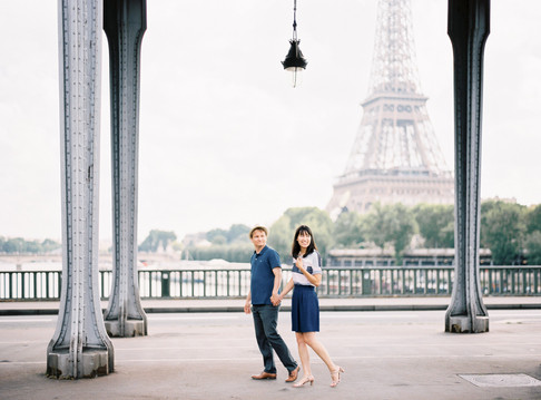 Love Story Photoshoot in Paris
