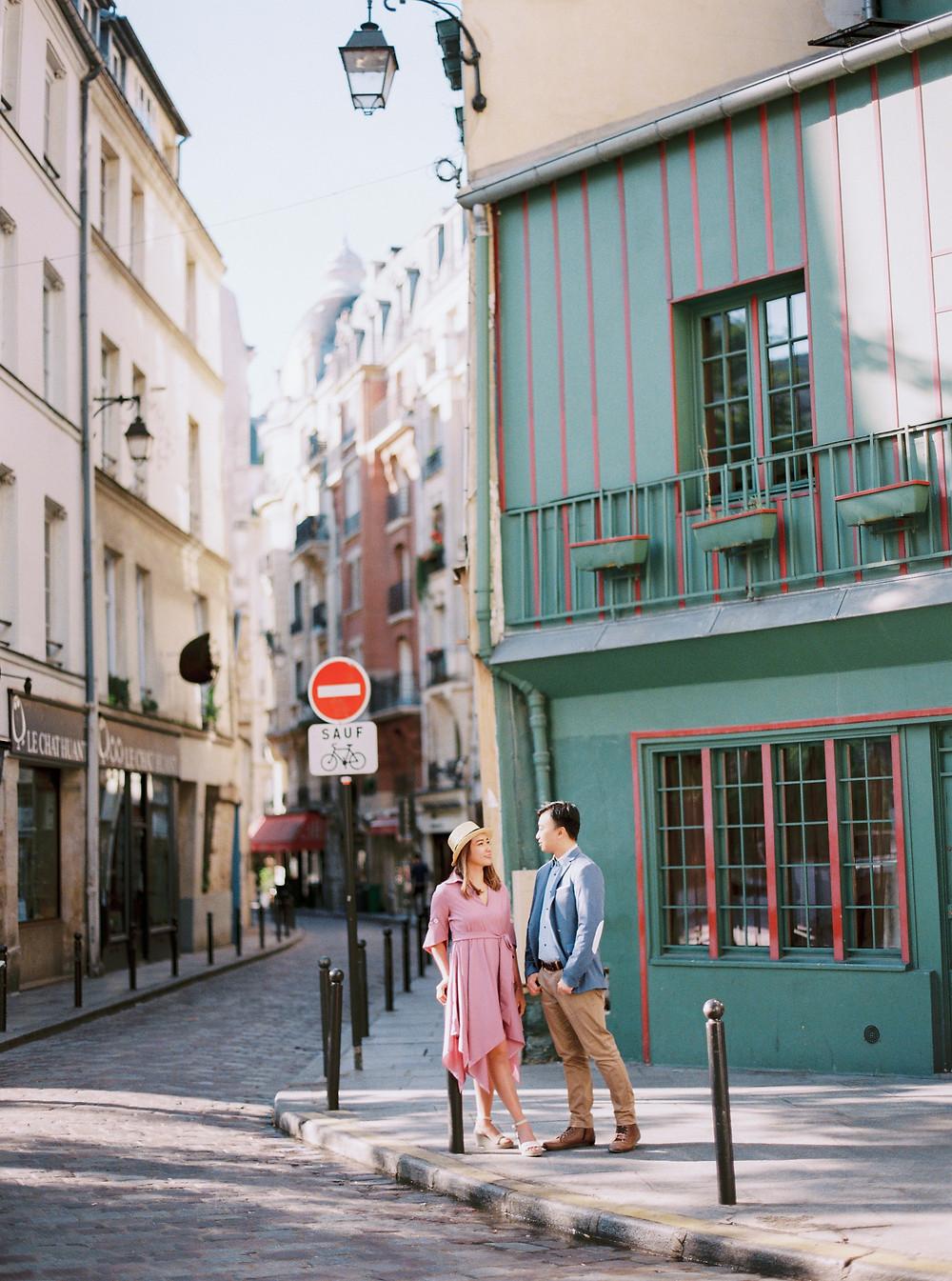 Paris Proposal Photos