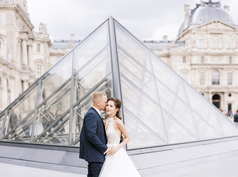 Evgeniya & Vitali | Paris elopement photoshoot