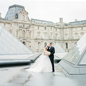 M&W. Elopement in Paris