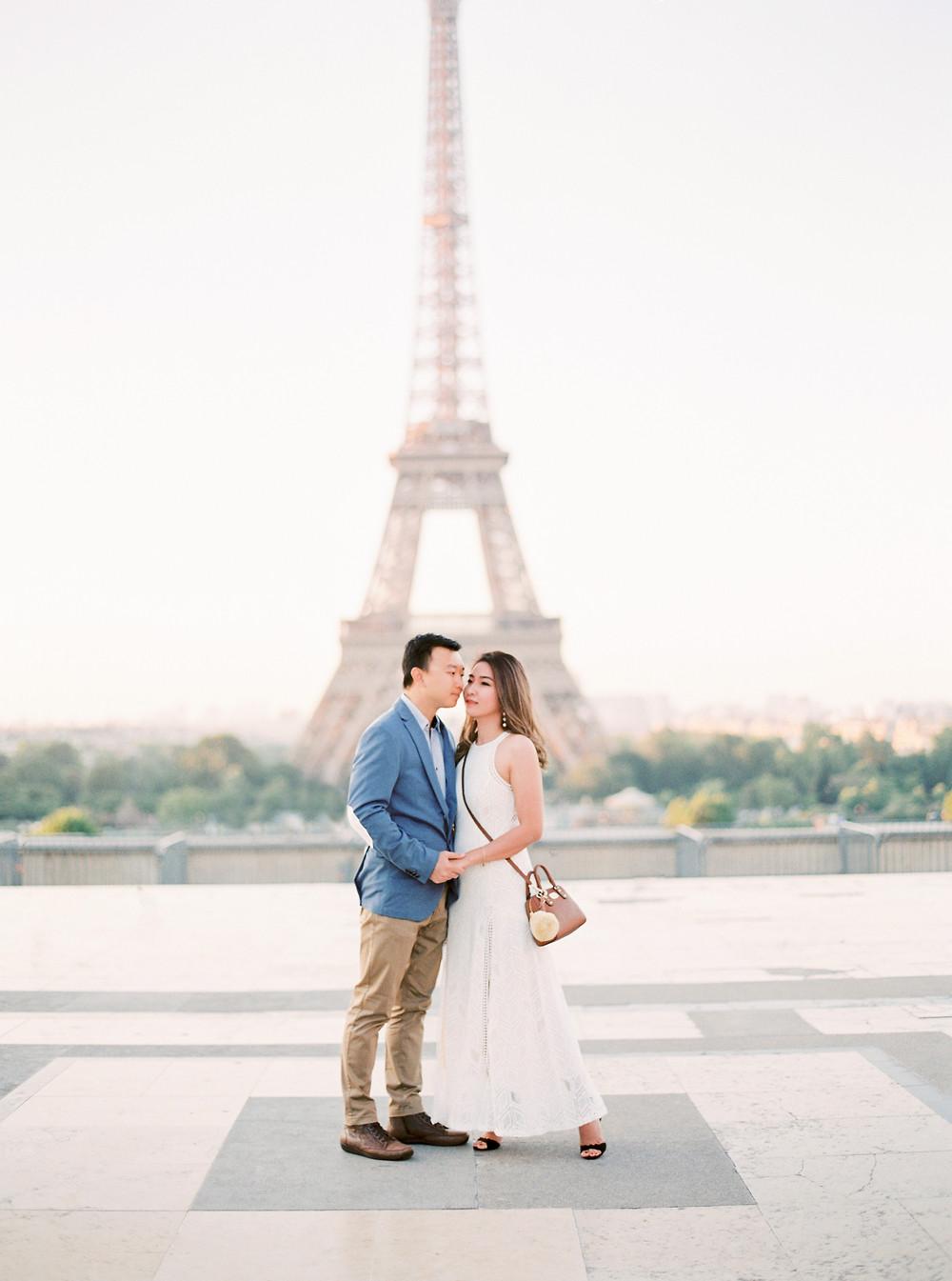 Wedding photoshoot in France
