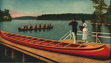 Old Town War Canoe