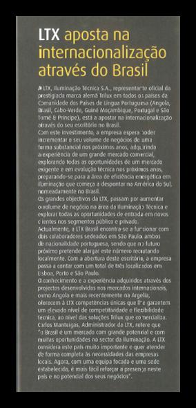 LTX no Brasil 1