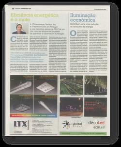 Eficiência energética LTX