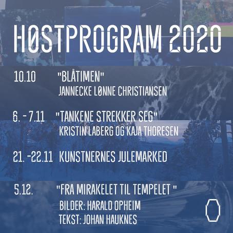 HØSTPROGRAMMET 2020
