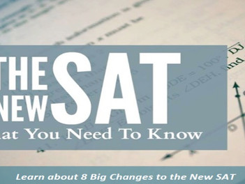 8 Changes to the New SAT