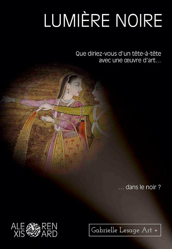 LUMIERE NOIRE GABRIELLE LESAGE ART PLUS