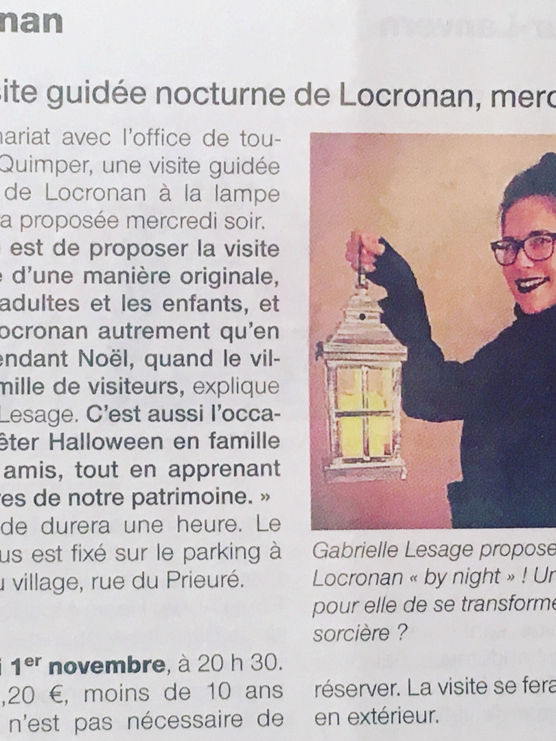 Ouest France 30/10/17