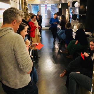 Visite sensorielle Gabrielle Lesage Art Plus Galerie Alexis Renard