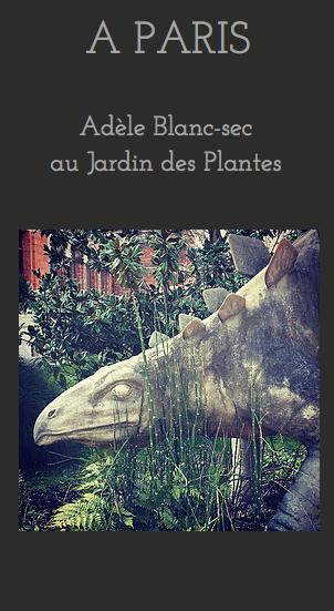 Chasse au trésor Adèle Blanc-sec Jardin des Plantes chass