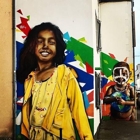 Quimper, le nouveau Brooklyn - Carte participative de street art - Partie 1 - Centre