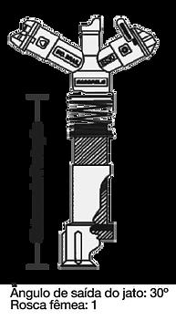 Aspersor IS-30