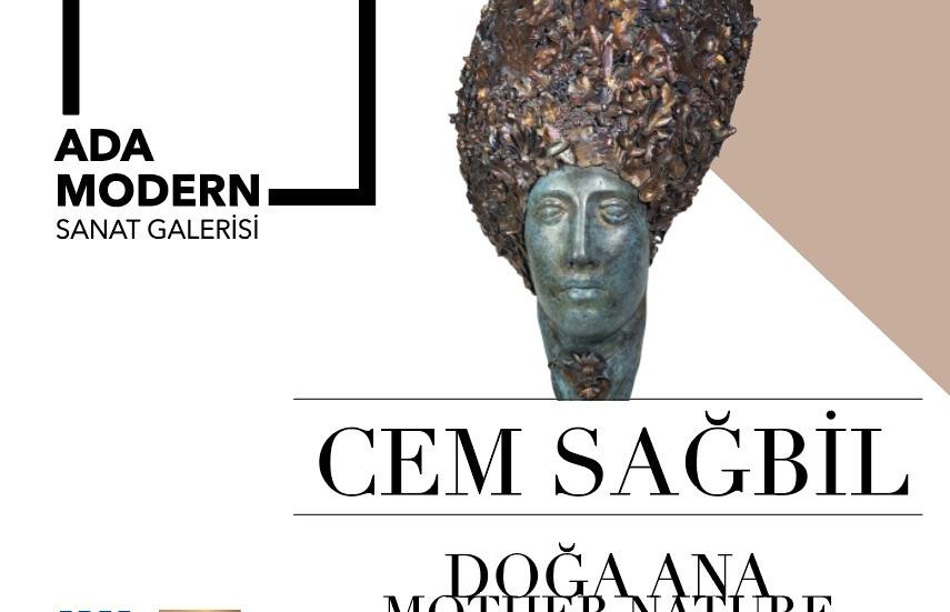 Cem Sağbil'in kişisel sergisi Doğa Ana Ada Modern Sanat Galerisi'nde