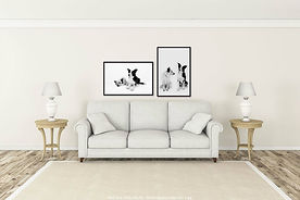 Sample of room with sofa