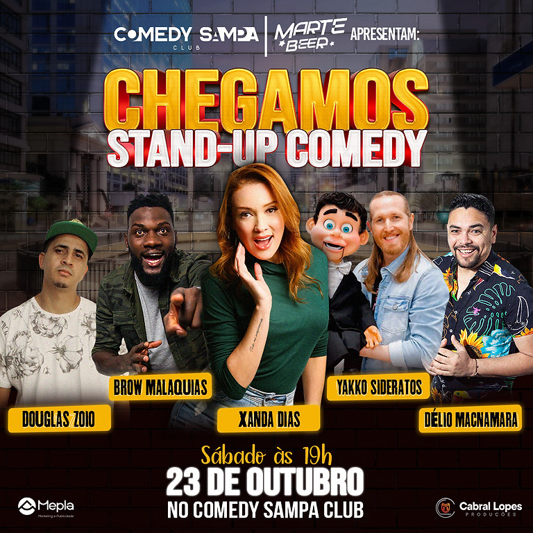 CHEGAMOS - Stand Up Comedy