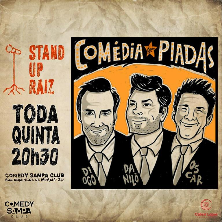 STAND UP RAIZ - Comédia com Piadas