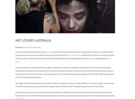 Indulge Magazine talks to Art Lovers Australia