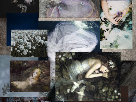Mood Board for series                 Sound of Silence