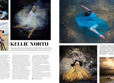 Kellie North - Nature and the feminine form define the work of this ground-breaking art Photographer