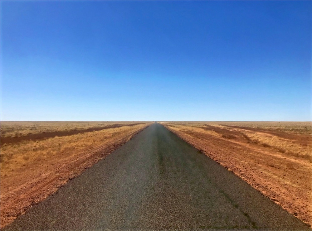 Open Road outback queensland