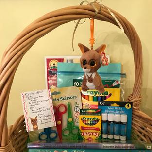 (#4) Kids Basket (preschool-1st grade)