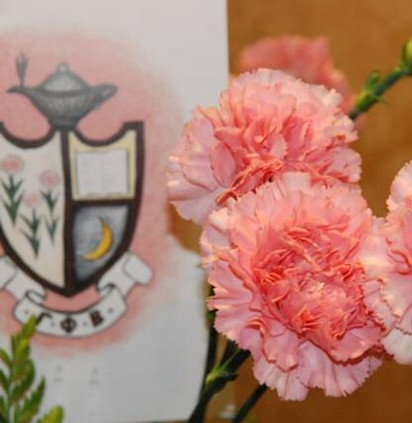 Crest and Carnations