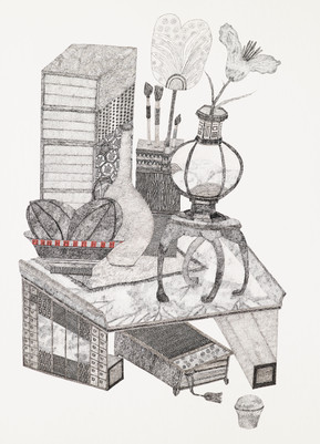 4. 이윤미_Space Drawing_종이 위에 펜_110x79cm_20